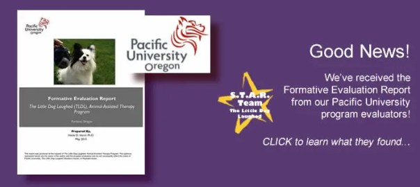 Phase 2 complete! We've received the Formative Evaluation Report from Pacific University! CLICK to learn more...