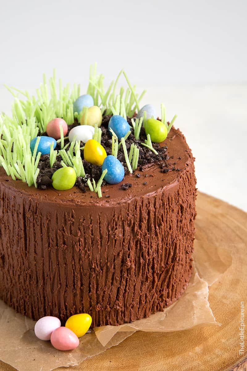 Easter Egg Birthday Cake