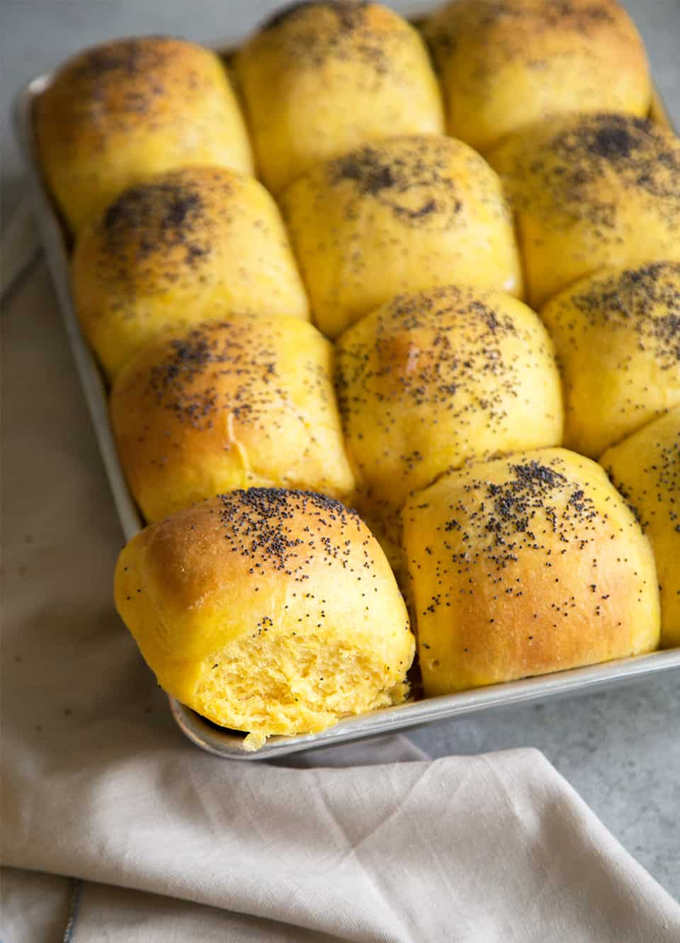 Pumpkin Bread Rolls Dinner Rolls The Little Epicurean