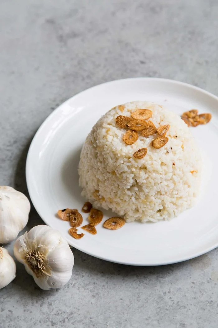 Sinangag Filipino Garlic Fried Rice The Little Epicurean
