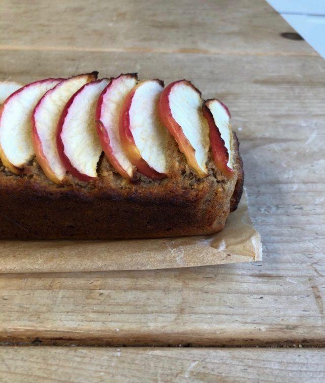 Apple Date Cake - 3