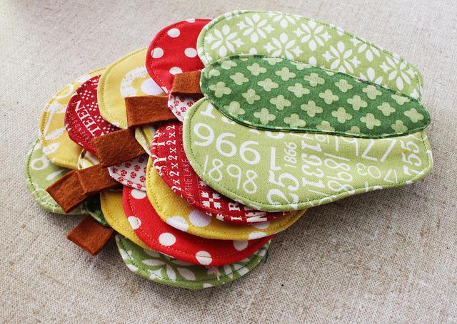 Bell Pepper Coaster_Patchwork Please_Ayumi Takahashi_handmade Coaster
