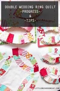 ouble wedding ring quilt how to