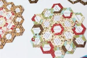 English Paper Piecing Hexagon Flower Garden Free English Paper Piecing templates