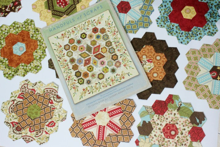 Flower Garden Update English Paper Piecing Quilt The Little