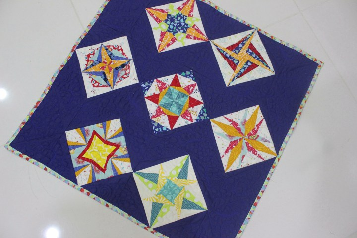 Wish Upon A Star Lucky Star Quilt Is Finally A Finished Quilt