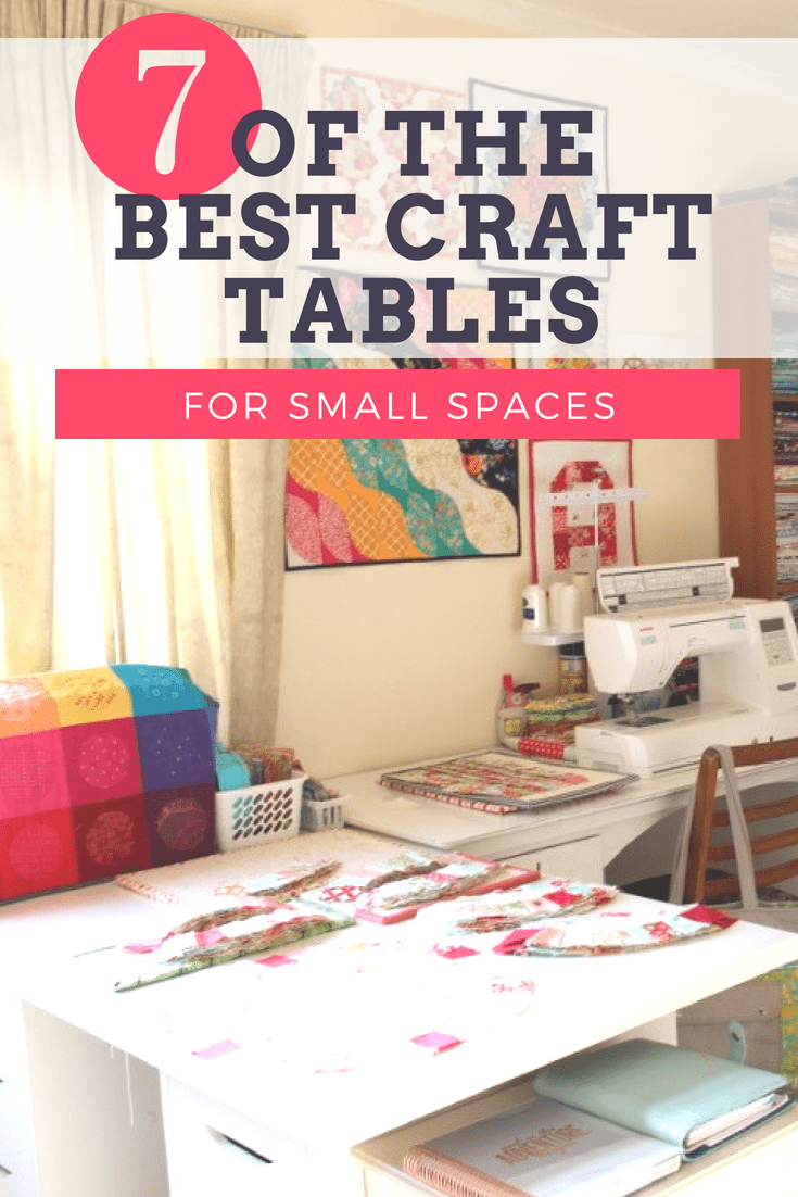 7 Best Recommended Space Saving Craft Table The Little Mushroom Cap A Quilting Blog