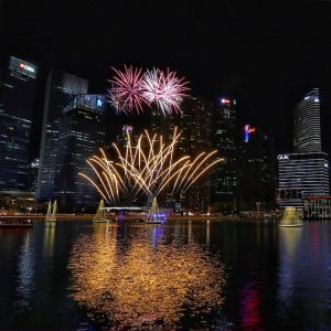Fireworks Display DBS Marina Regatta