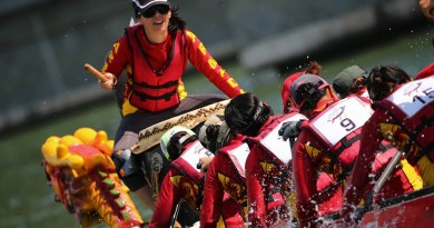 Themed Dragon Boat Race DBS marina Regatta