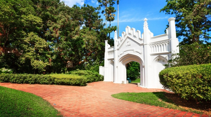 Fort Canning Singapore Entrance