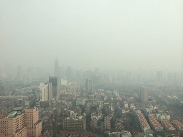 POLLUTED SHANGHAI