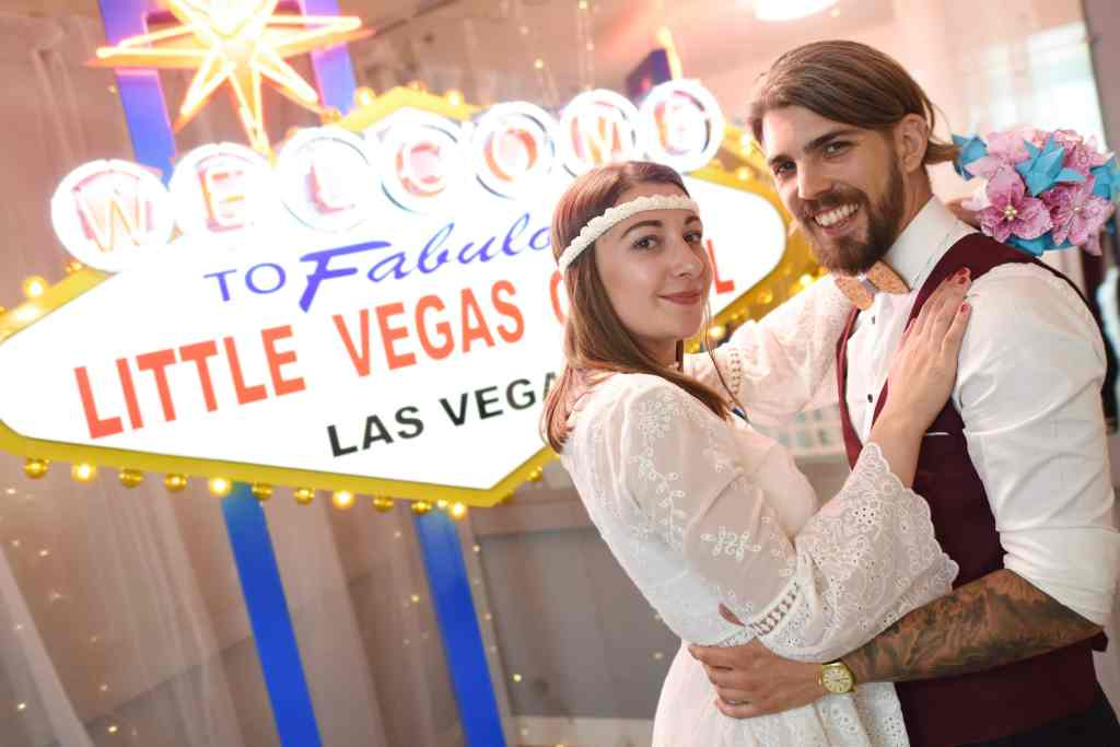 Pretend weddings in Las Vegas