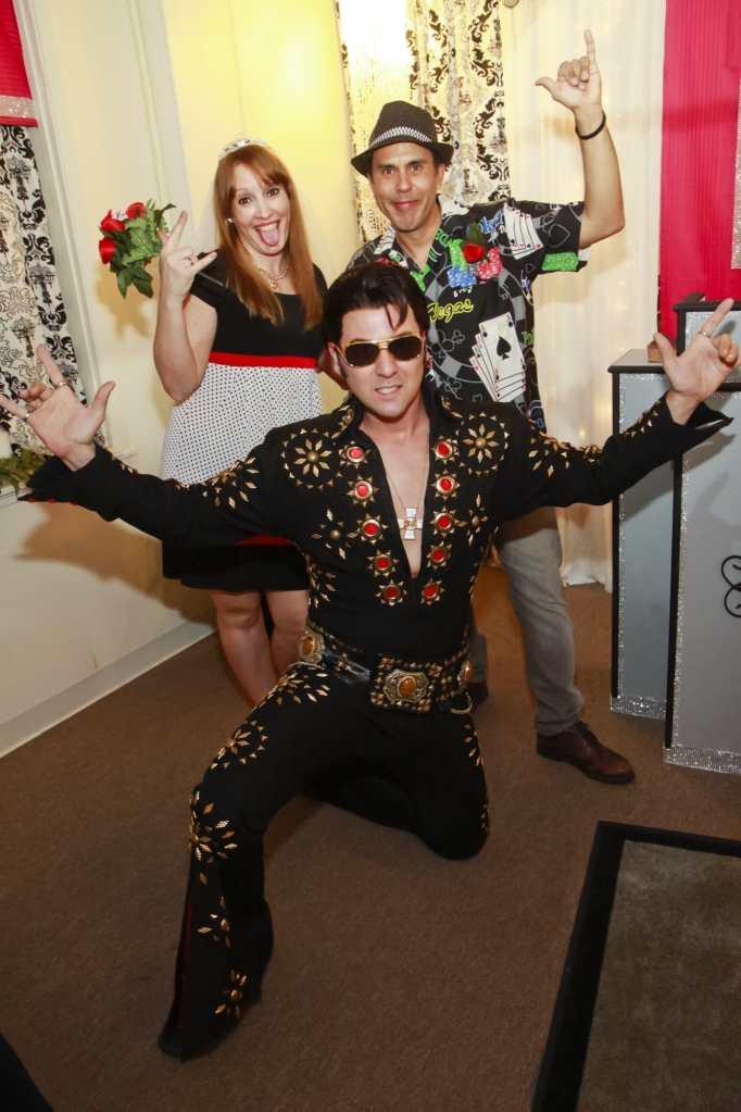 Elvis wedding in Las Vegas