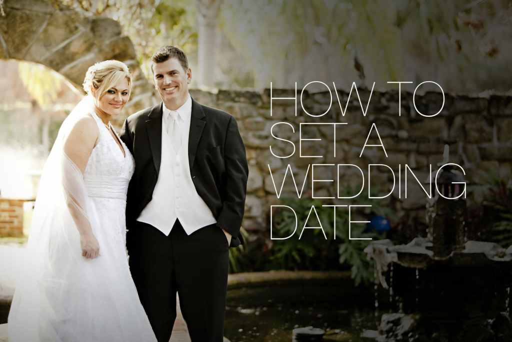 How To Set a Wedding Date
