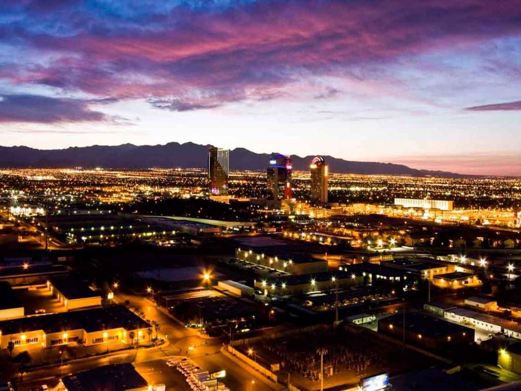 Las Vegas City Skyline