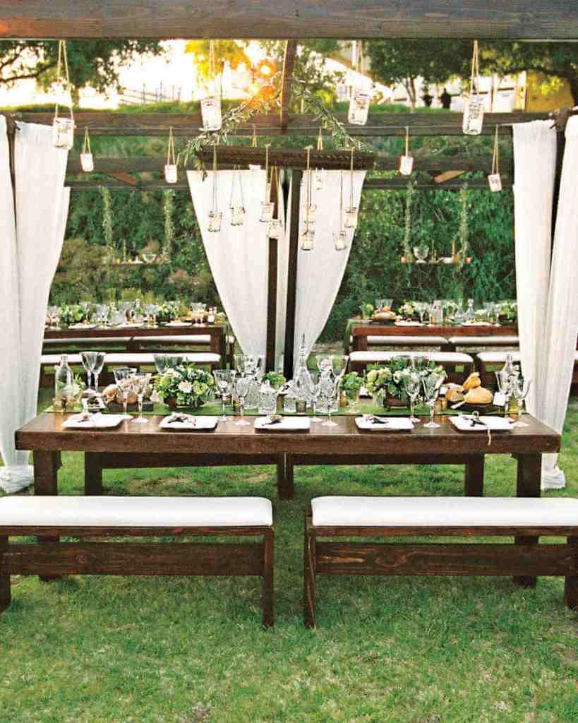 hanging floral spring wedding trends
