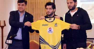 Peshawar Zalmi TeamShirt 2019 Kit