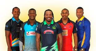 CPL T20 Teams 2018 Team Squad Players List Captains
