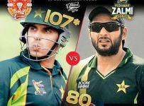 Peshawar Zalmi VS Islamabad United Live Score 2016 5th Feb