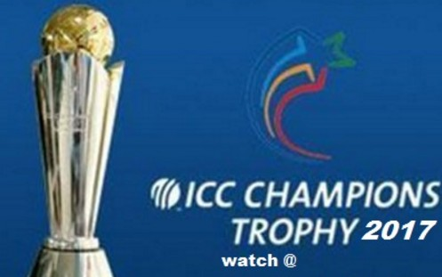 ICC Champions Trophy 2017 Schedule Time Table PDF File Free Download