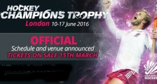 Men's Hockey Champions Trophy 2016 Schedule, Results
