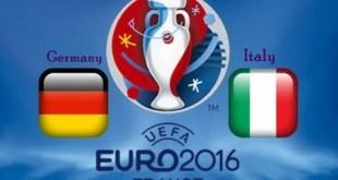 Germany Vs Italy Euro 2016 Quarter Final Live Score Results, Predictions