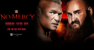 WWE No Mercy 2017 Date And Time In India, Poster