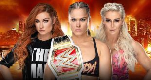 ronda rousey vs charlotte flair vs becky lynch wrestlemania 35 date time in India result