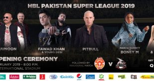 Pakistan Super League 2019 Live Opening Ceremony Video Highlights