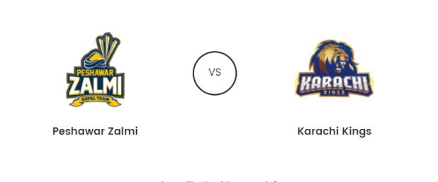 Peshawar Zalmi Vs Karachi Kings Live T20 21st Feb 2019 Prediction