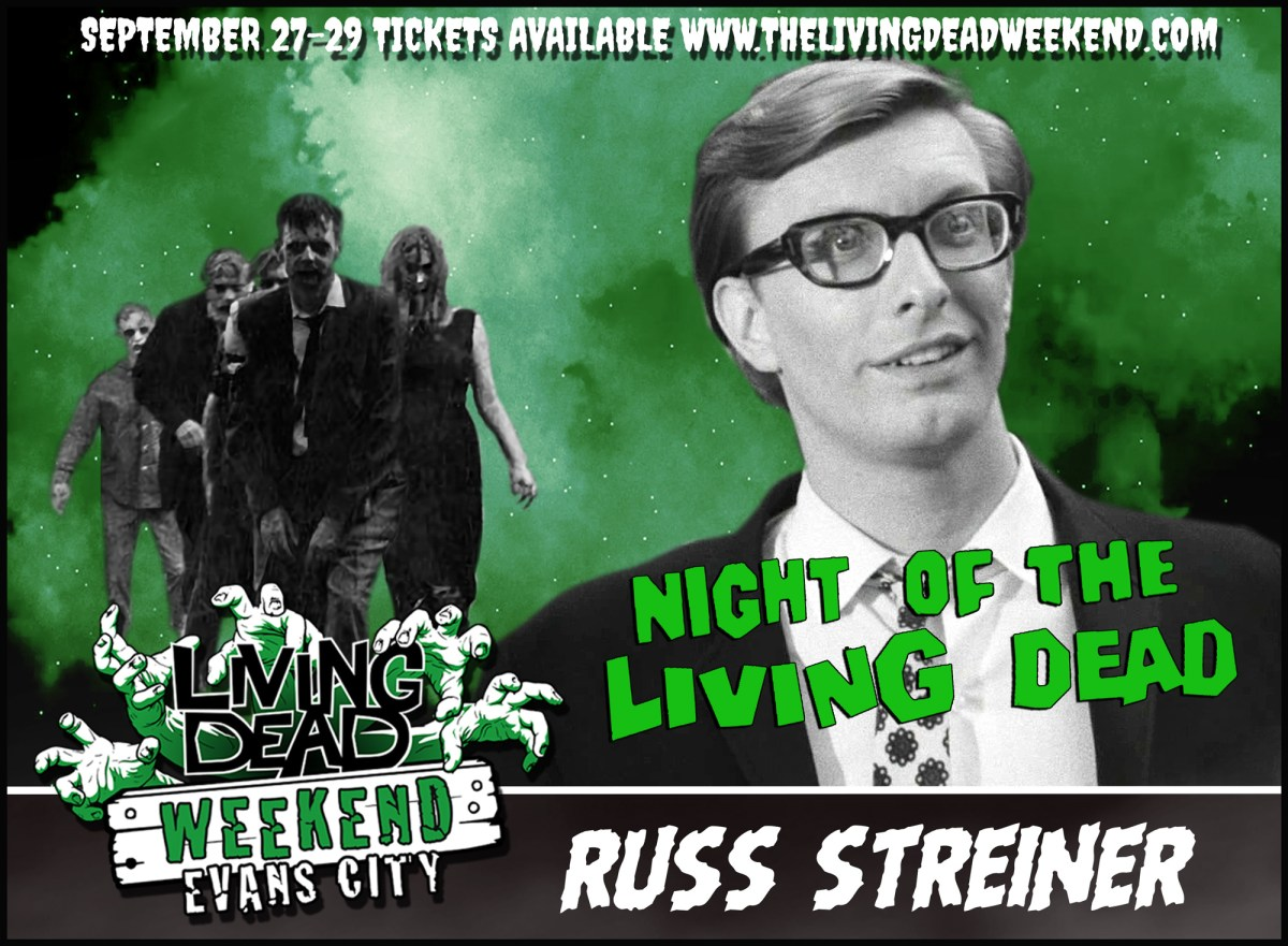 Living Dead Weekend Russ Streiner Night of the Living Dead Johnny Appearance coming to get you Barbra