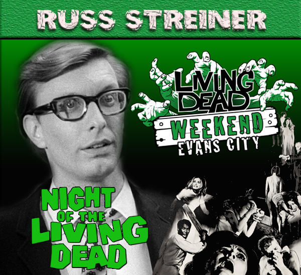 Russ Streiner at Living Dead Weekend night of the Living Dead 2017