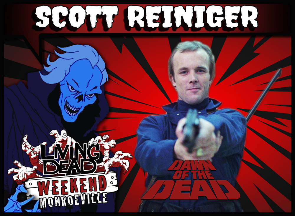 LIVING DEAD WEEKEND 2019 SCOTT-REINIGER ZOMBIES DAWN OF THE DEAD GEORGE ROMERO