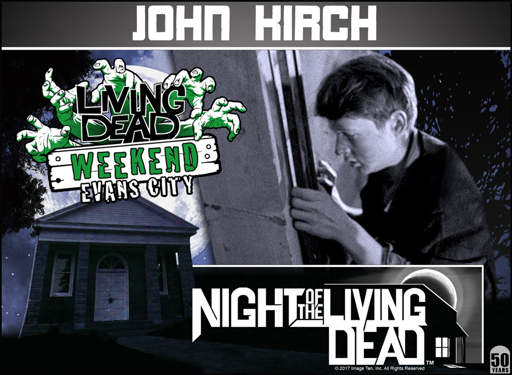 Guest Ghoul John Kirch Night Of The Living dead George Romero Zombie Living Dead Weekend