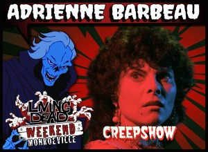 LIVING DEAD WEEKEND GUEST ANNOUNCE 2019 ADRIENNE-BARBEAU Pittsburgh Monroeville Mall June 2019