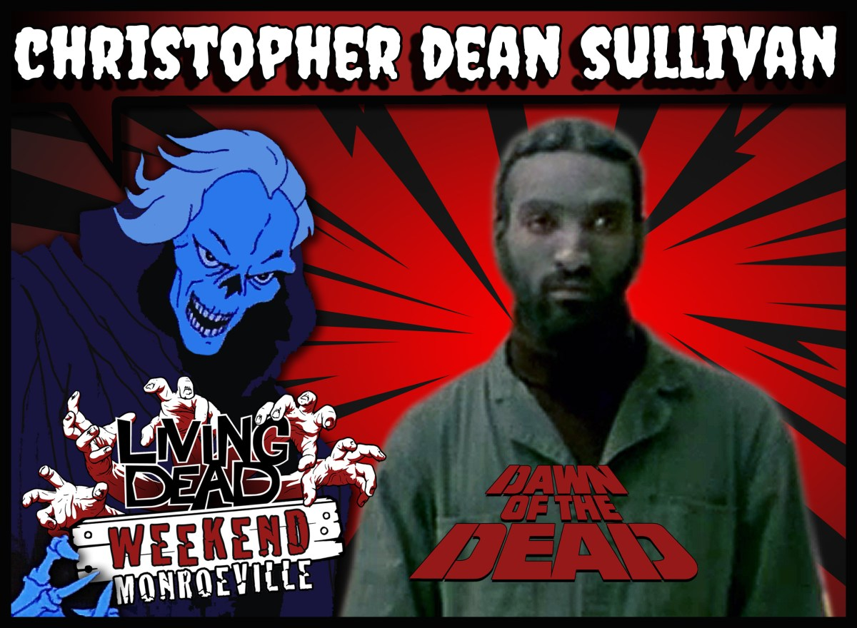 Christopher Dean Sullivan Living Dead Weekend Dawn of the Dead Zombie Reunion Monroeville Mall June 14-16 2019 Horror con