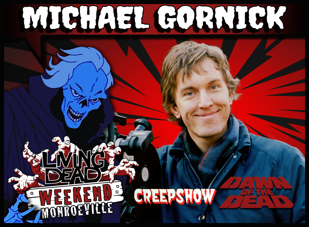 Living Dead Weekend Creepshow 2 Director Michael Gornick Monroeville Mall June 2019 home of Dawn of the Dead Pittsburgh