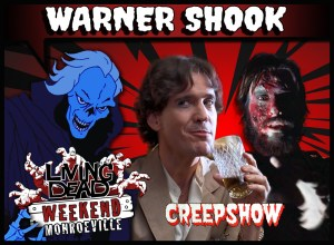 Warner Shook Dawn of the Dead Creepshow at Living Dead Weekend George Romero Boiler Room Zombie Horror Monroeville Mall