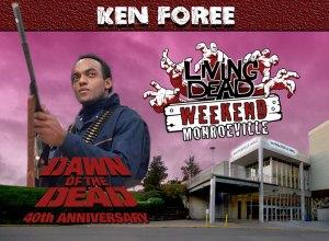 Living Dead Weekend Monroeville Mall June 8-10 2018 Ken Foree George A Romero's Zombie Dawn of the Dead web