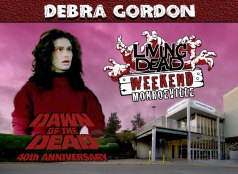 Debra Gordon Living Dead Weekend of the Dead Dawn of the Dead Day George Romero Zombie