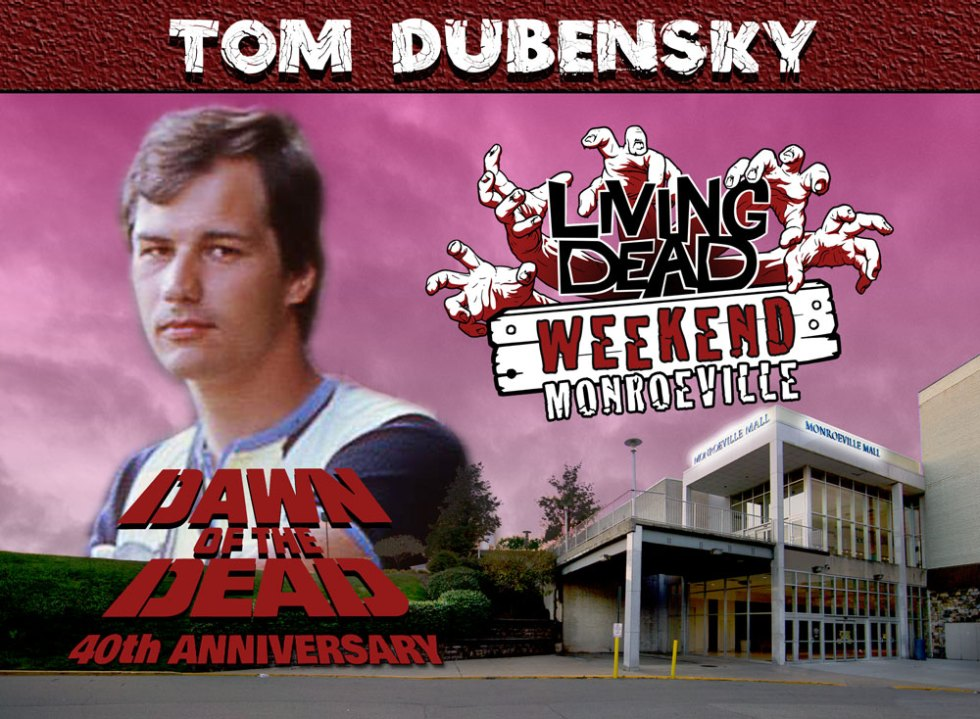 Tom Dubensky George A Romero Martin Knightriders, Dawn of the Dead Creepshow,