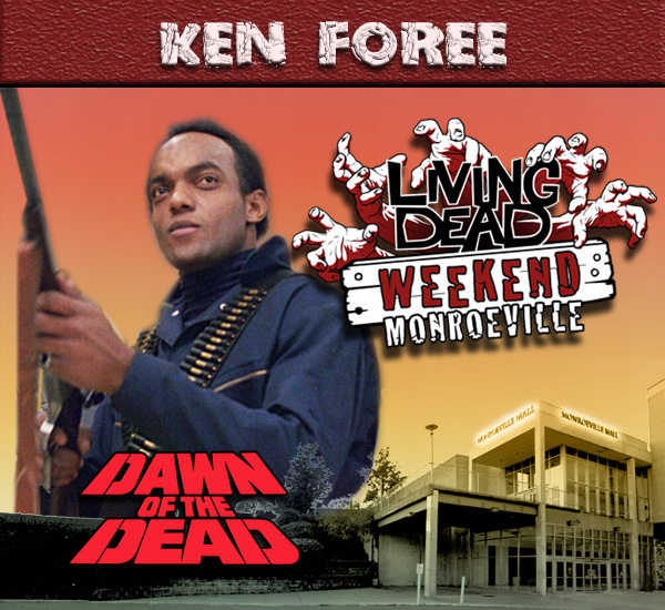 Ken Foree Dawn of the Dead Monroeville Living Dead Weekend