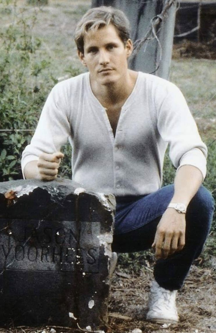 Thom Mathews Friday the 13th VI Tommy Jarvis Jason Vorhees Grave Stone