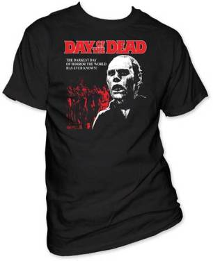 DAY OF THE DEAD Licensed Logo T-Shirt