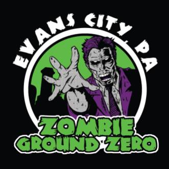 "Evans City ""Zombie Ground Zero"" T-Shirt"