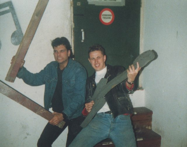 TED AND GEOFF FOOLING AROUND