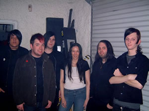 with The Agony Scene