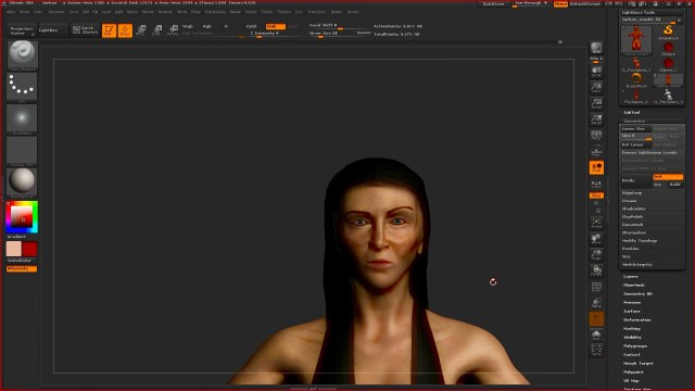 jarboe virtual reality avatar by Byron Barry