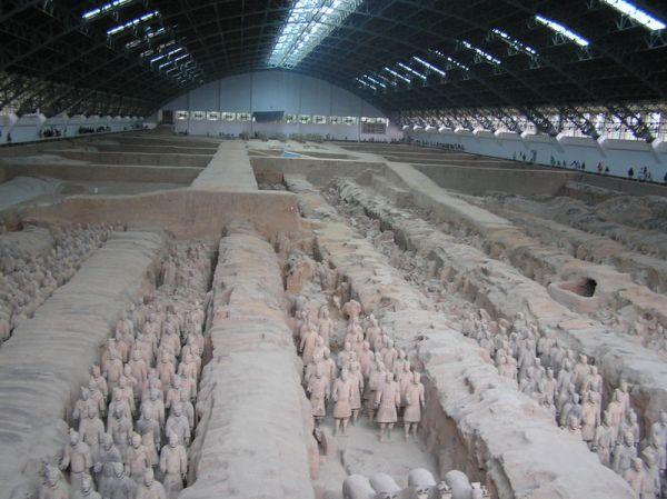 Xian Terracotta Army Emperor Qin Shi Haung Mausoleum
