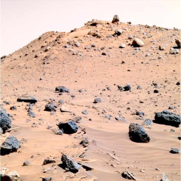 The True Color of Mars